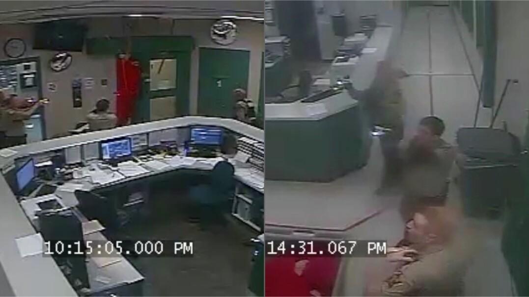 Chciał uciec z więzienia przez sufit, spadł strażnikom pod nogi