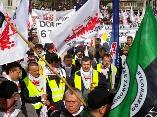Demonstracje w Warszawie archiwum