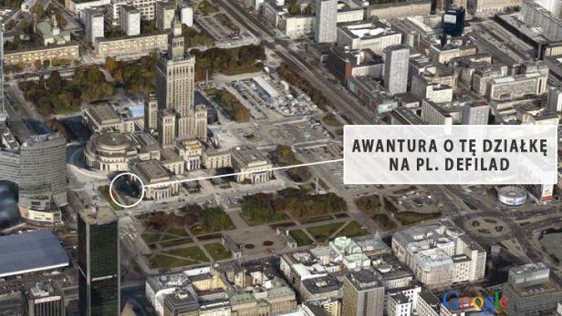 Awantura o zwrot działki Google Earth/ tvn24.pl