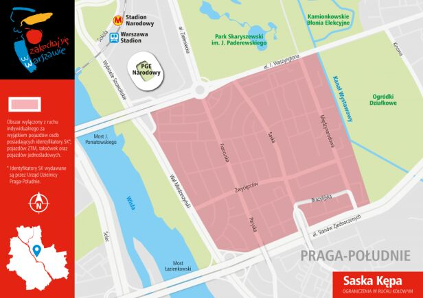 The Rolling Stones w stolicy - mapa Urząd Miasta