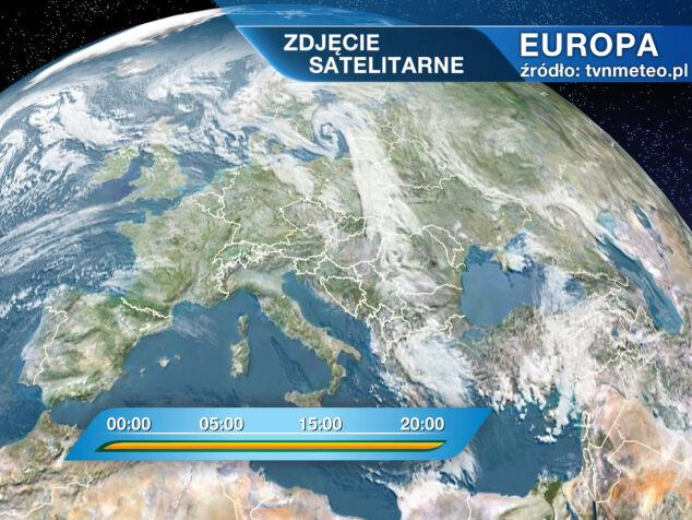 Mapa Pogody Europa Europa Zdjecie Satelitarne