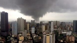 Tornado przeszło przez miasto. Są ofiary