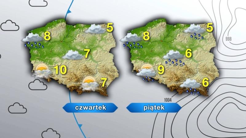 Pogoda w czwartek i piątek