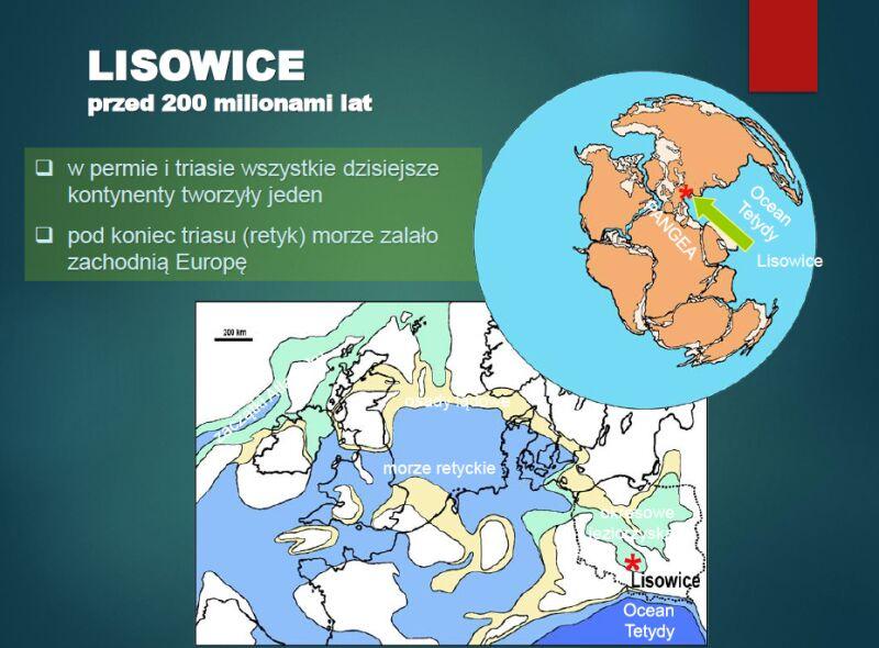 Lisowice przed 200 milionami lat (prezentacja dr hab. Tomasza Suleja)