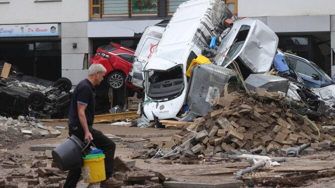 Do końca XXI wieku takich burz jak w Niemczech będzie wielokrotnie więcej