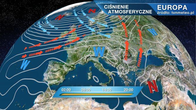 Niż Wiltrud rządzi pogodą w Polsce